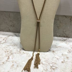 Stella Dot tassel necklace